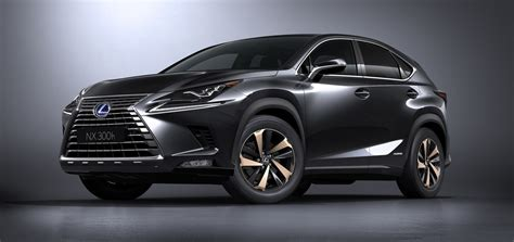lexus black nx 2018 lexus nx gets a fresh face in shanghai carscoops