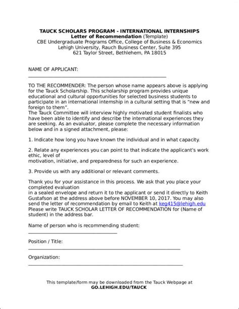 5 Tips To Writing Recommendation Letters That Work Sle Templates Letter Template In Word