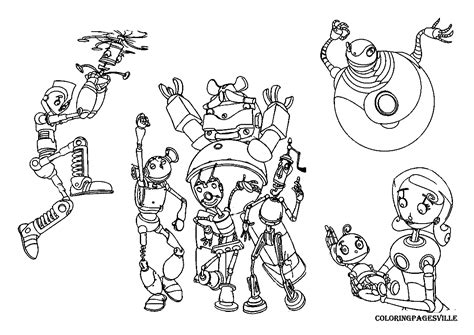 Robots Coloring Pages My As A Robot Coloring Pages