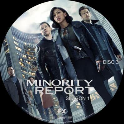 minority report season 1 disc 3 dvd covers labels