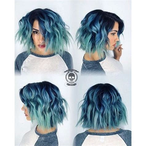 mint green hair color 10 intriguing blue hairstyles and color ideas 2018 hair