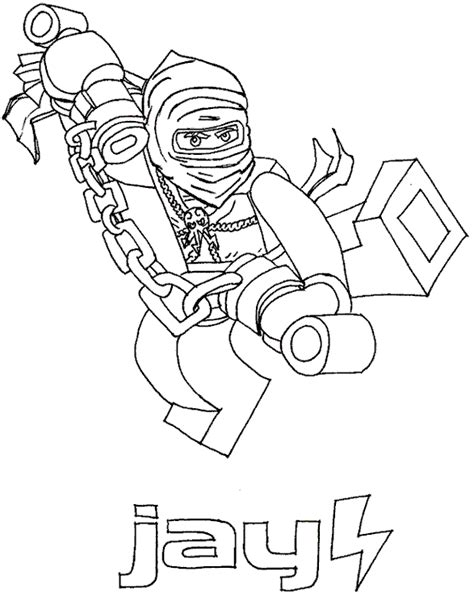 ninjago coloring pages jay dx lego ninjago jay and lego on pinterest