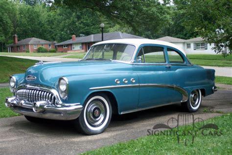1953 buick special 2 door sedan great exle for sale