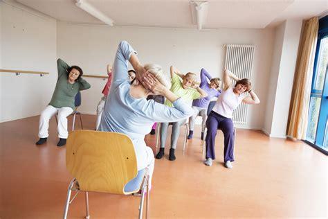 armchair yoga for seniors on retirement