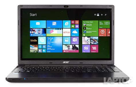 Laptop Acer Aspire E15 acer aspire e15 touch e5 571p 363n review