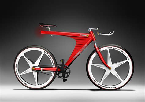 ferrari bicycle ferrari bike on behance