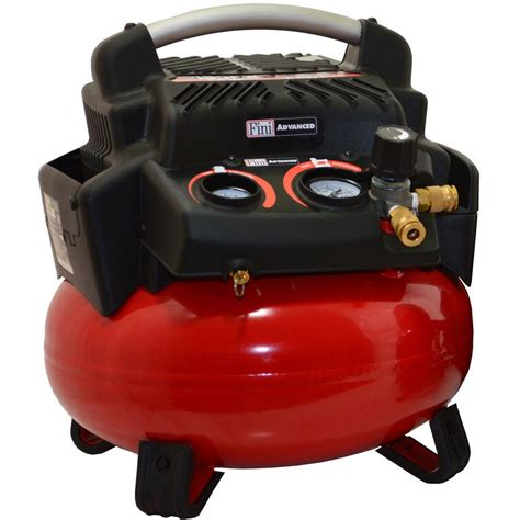 portable electric air compressor steel pancake style tank 1 5 hp 6 gal 150 psi 840534016913 ebay