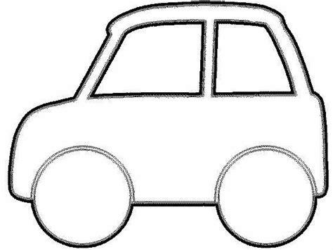 Kleurplaat Auto Patterns Transportation Theme Transportation For Kids Pattern Car Outline Templates