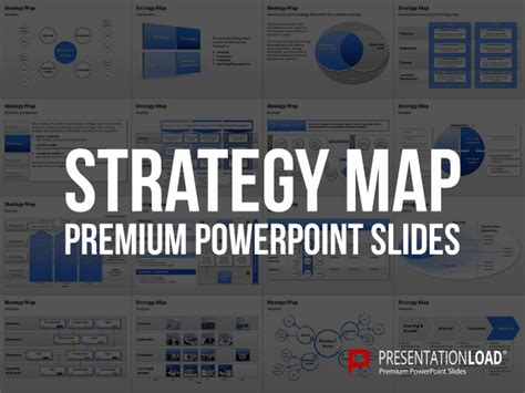 Strategy Map Powerpoint Template Strategy Map Powerpoint Template
