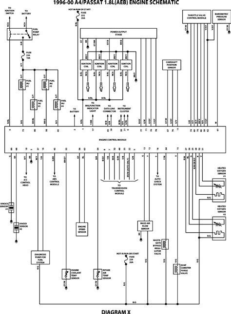 wiringdiagrams engine schematics wiring diagram for audi