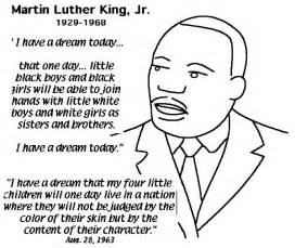 martin luther king jr coloring pages complete speech from martin luther king jr coloring page