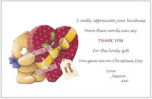 Thank You Letter Xmas Gift 12 Personalised Childrens Kids Christmas Thank You Cards