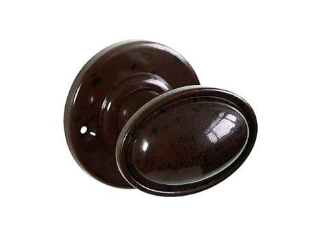 Bakelite Door Knob by Stepped Oval Real Bakelite Door Knobs