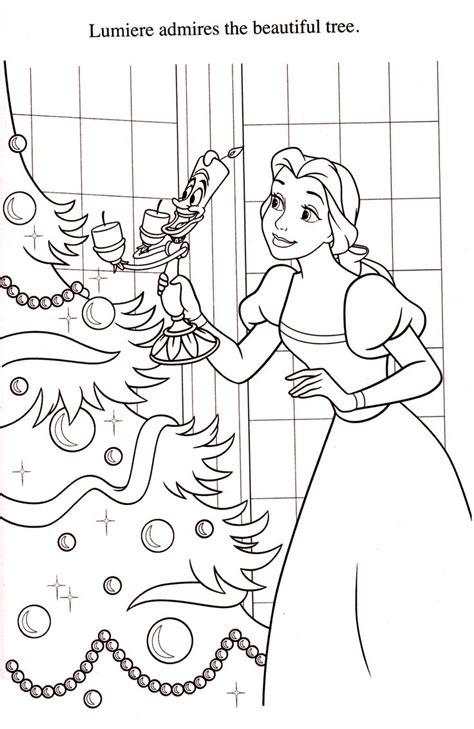 belle christmas coloring pages 227 best images about coloriages la belle et la bete on