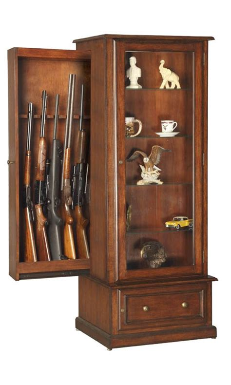 cabinet with gun storage build diy gun cabinet bookcase plans plans wooden