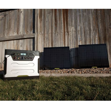 the home solar power generator hammacher schlemmer