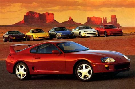 1994 Toyota Supra Turbo Chevrolet Corvette Lt1 Mazda Rx