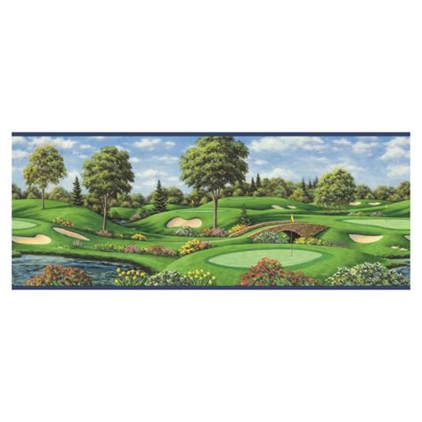 agb golf  border discount wallcovering