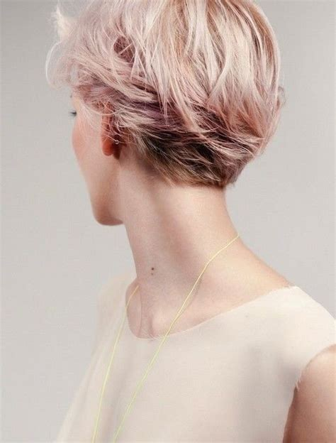 back view of short hair for mature and grey hair 21 easy hairdos for short hair popular haircuts