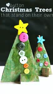 button christmas tree crafts no time for flash cards