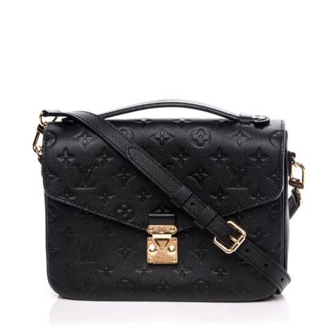 Tas Louis Vuitton Pochette Metis Wb louis vuitton empreinte pochette metis noir black 194030