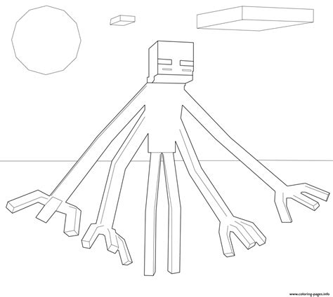 minecraft coloring pages mutant skeleton 40 printable minecraft coloring pages