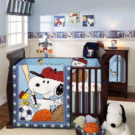 snoopy baby bedding baby boy nursery theme ideas homesfeed