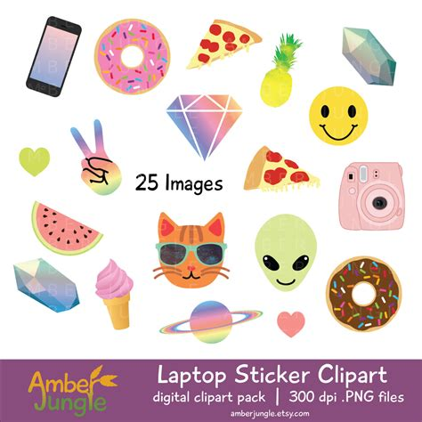 printable stickers for laptop laptop stickers clipart blogger girl tumblr clip art blog
