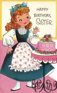 Happy birthday sister greetings card b46a happy birthday sis love u