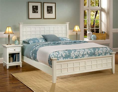 arts and crafts bedroom furniture home styles arts and crafts bedroom set white 5182 42