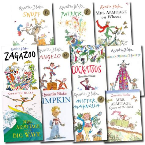 snuff quentin blake classic 1849410488 quentin blake children s 10 books collection set early reader picture books ebay