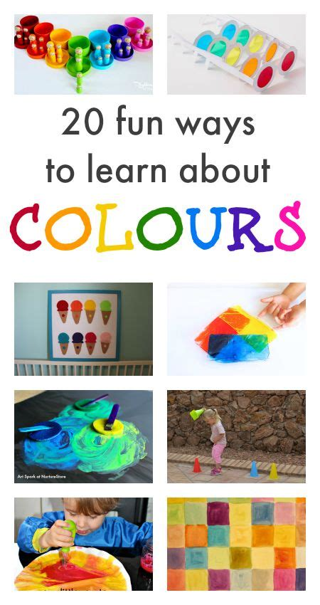 color activities for toddlers 2183 best we learn through play images on