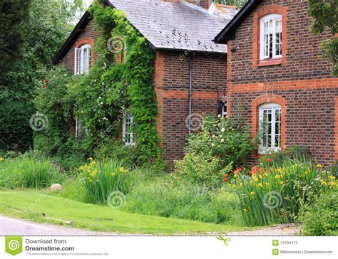 Farmhouse Building Plans english country cottages stock image image 14704711