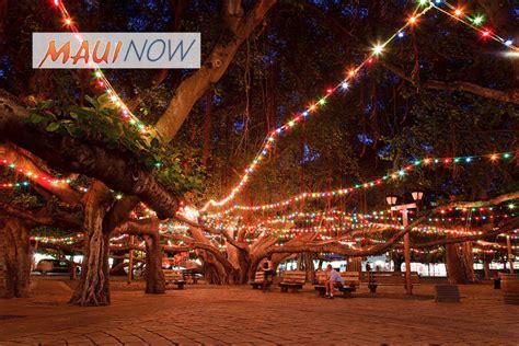 Now 20th Annual Lighting Of Lahaina Banyan Tree