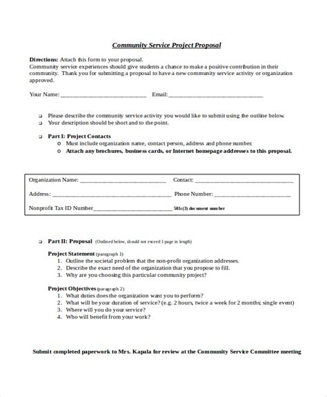 service proposal template 14 free word pdf document
