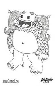 my singing monsters coloring pages my singing monsters coloring pages sketch coloring page
