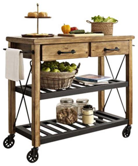 Kitchen Cart With Pot Rack by Roots Rack Industrial Kitchen Cart In Cagna Isole E