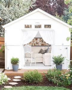 she shed the she shed is taking over back gardens as women create