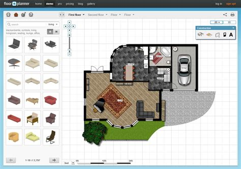 online floorplanner free 5 free online room design applications