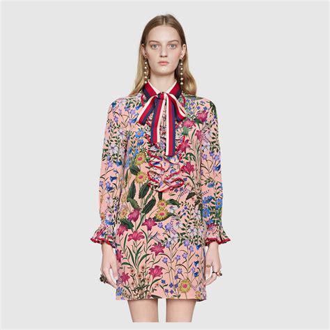 Dress Print Flora new flora print dress gucci s dresses 453016zip526202