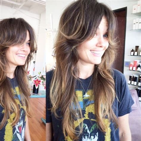 shaggy haircuts no bangs 25 best ideas about hair long layers on pinterest long