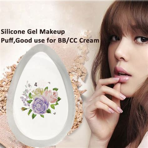 Silisponge Silicone Gel Makeup Puff silicone gel silisponge puff flower foundation puff makeup