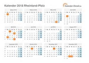 Kalender 2018 Rheinland Pfalz Feiertage 2018 Rheinland Pfalz Kalender
