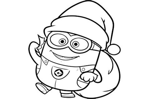 imagenes navideñas para imprimir y colorear pinto dibujos minion navide 241 o para colorear