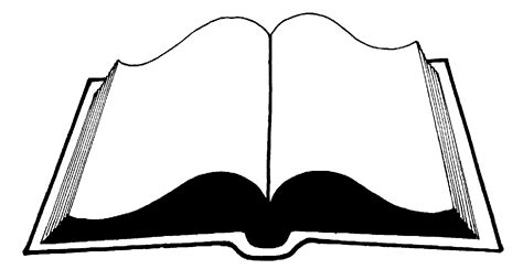 Outline Of A Open Book by Open Book Outline Clipart Free Clipart Images Clipartix