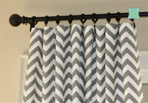 chevron gray curtains hand crafted custom designer curtain panels ash gray grey