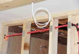 How To Run Plumbing by How To Successfully Install Shower Head Plumbing In
