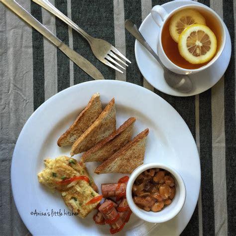 aniza  kitchen koleksi sarapan  encik suami