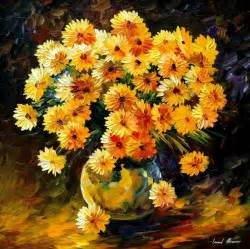 painting of flowers frames and colors amazing flower paintings by leonid afremov