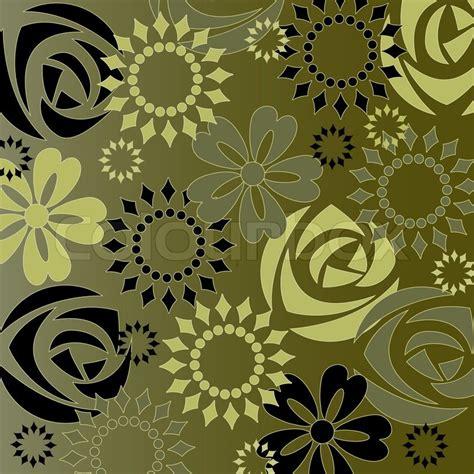 repeat pattern motifs repeat motif floral stock vector colourbox